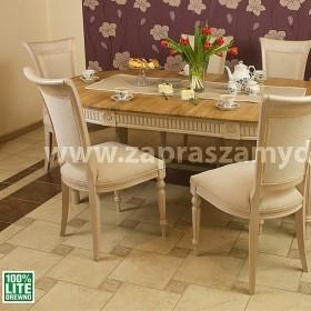 rozłożony stół drewniany Classic 2